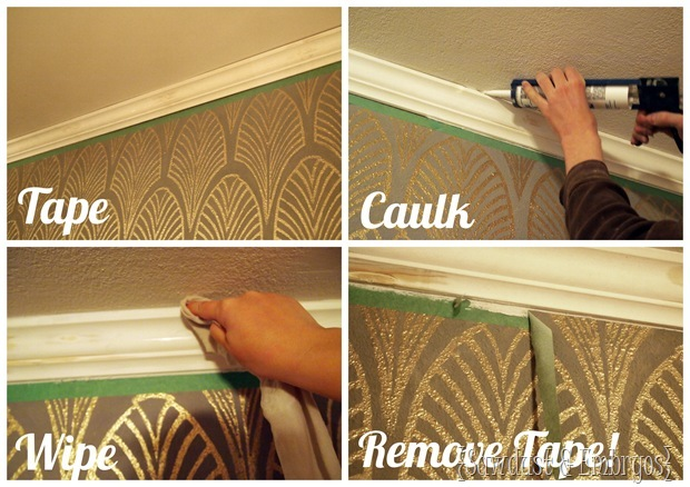 Caulking Crown Molding Sawdust And Embryos