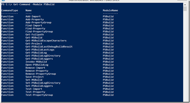 Mitul Suthar: PSBuild makes working with MSBuild exe easier from