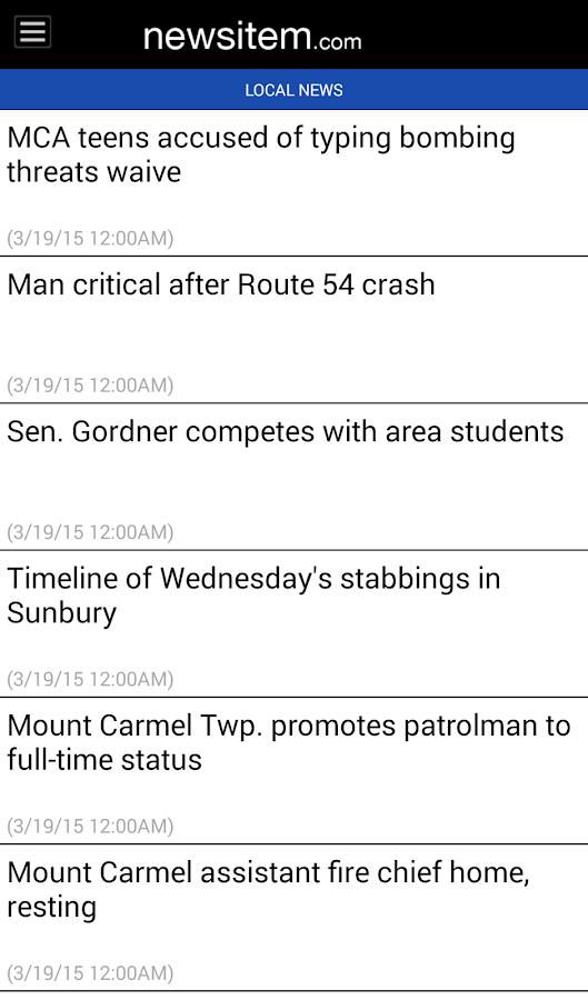 The Shamokin News-Item- screenshot