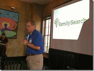 大卫Rencher地址在Familysearch Media Dinner的博主