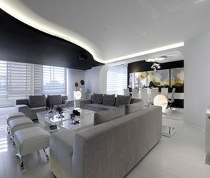 decoracion-salon-muebles-balncos