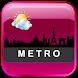 Metro Clock Widget