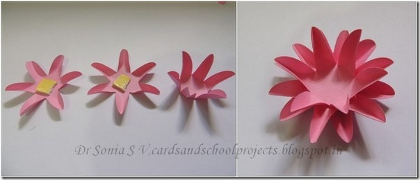 Cards Crafts Kids Projects Easy Paper Flower Tutorial