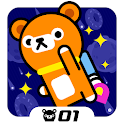 Tappi Bear - Space Rush icon