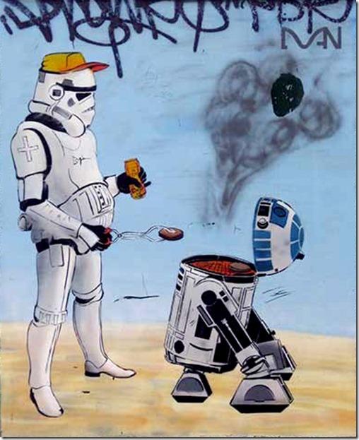 Смешные картинки звездным войнам, телефоны рисунки что