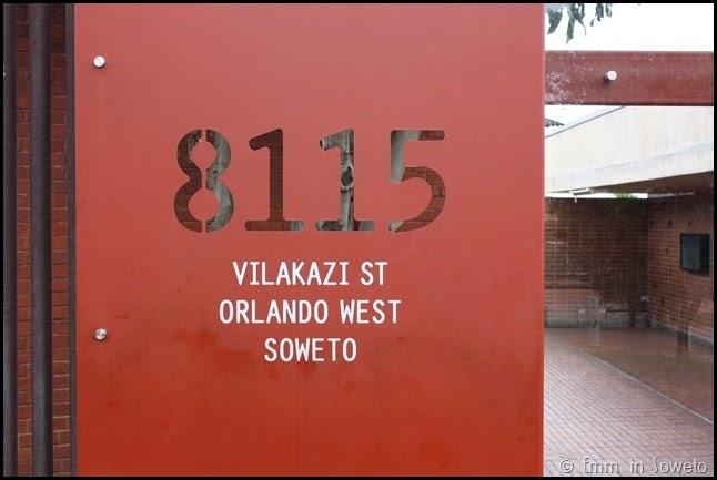8115 Vilakazi Street - Mandela's House