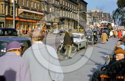 1950's Edinburgh Princes Street ©