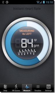 frecuencia cardiaca android