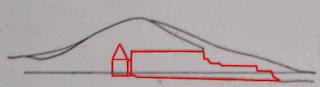 схема вертикального разреза подземной гробницы царского кургана в керчи, украина