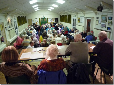 Wistaston Annual Hall Quiz - publicity photo from 2011