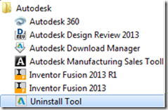 Terminal AutoCAD: Uninstalling the Autodesk Design Suites