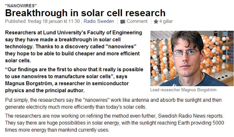 solar cell heats up