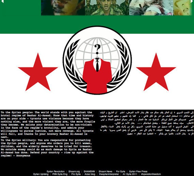 SYRIA-HACKED-ANONYMOUS