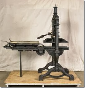 First Express printing press