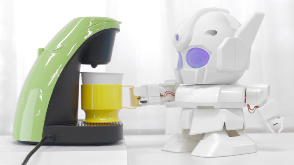 Rapiro, le robot qui fait du café