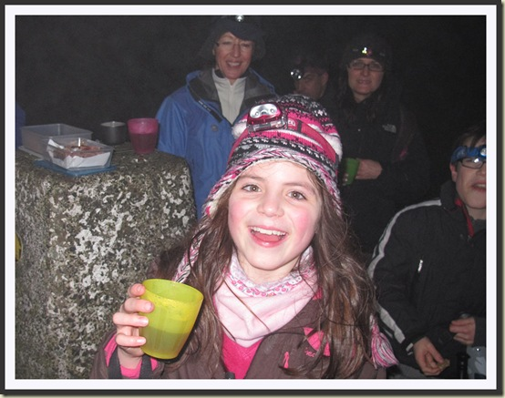 At Shutlingsloe's summit - 18/12/12
