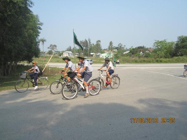 TraiDungThuaThioem2013 07 BHD GĐPT Thừa Thiên tổ chức Trại Dũng năm 2013