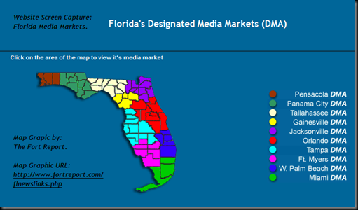 Lost Paradise: Fl.: Florida's 10 Media Markets on map of palm bay, map of palm beach gardens, map of palm springs, map of palm harbor, map of palm coast,