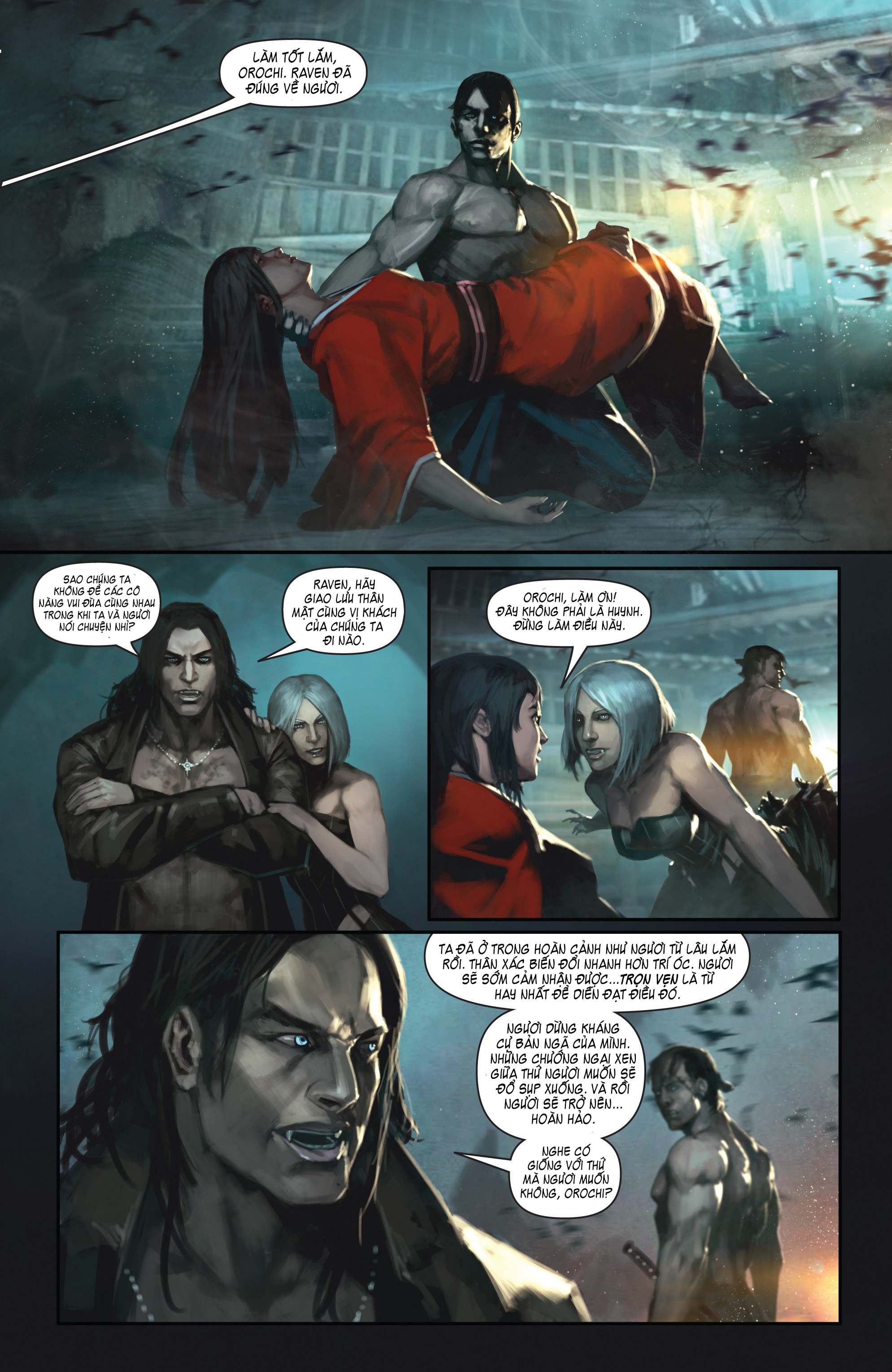BUSHIDO - THE WAY OF THE WARRIOR chapter 4 trang 7