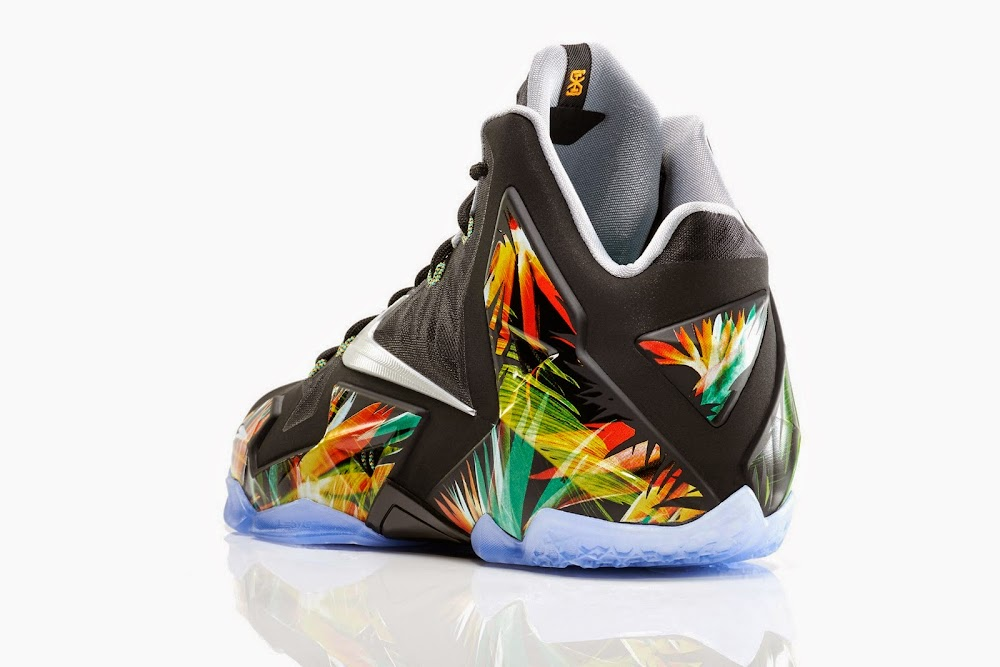 watch 91db8 372e0 ... This Floral LeBron 11 is Indeed Called Everglades Drops in May ...