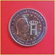 2 Euros Luxemburgo 2004