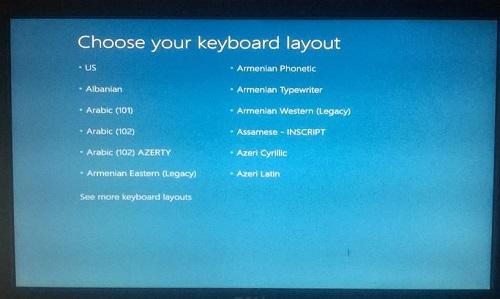 phục hồi Windows 10 từ USB/DVD phục hồi