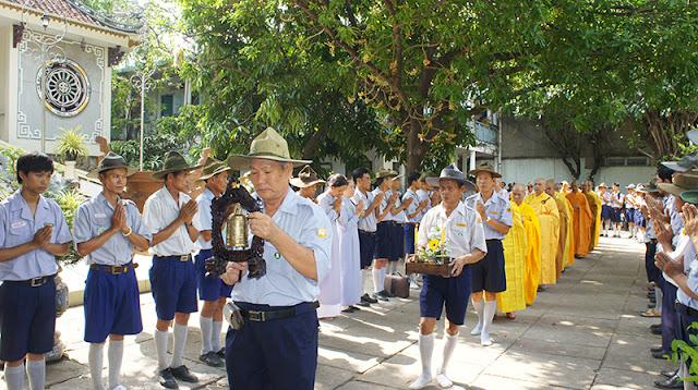 DSC06336 Lễ Hiệp kỵ   Lễ Huý Nhật Cư sĩ Sáng lập viên GĐPT Việt Nam   Tâm Minh Lê Đình Thám