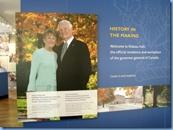 6409 Ottawa 1 Sussex Dr - Rideau Hall - Visitor Centre