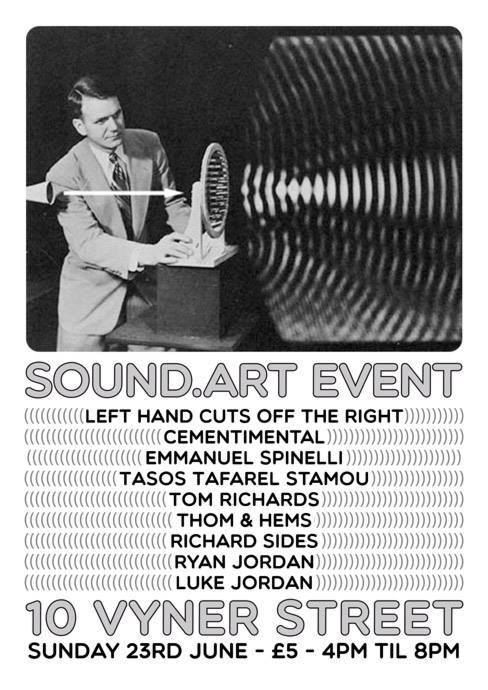 luke jordan sound.art event