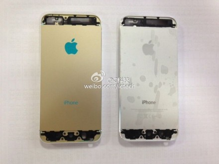 Iphone 5s backside