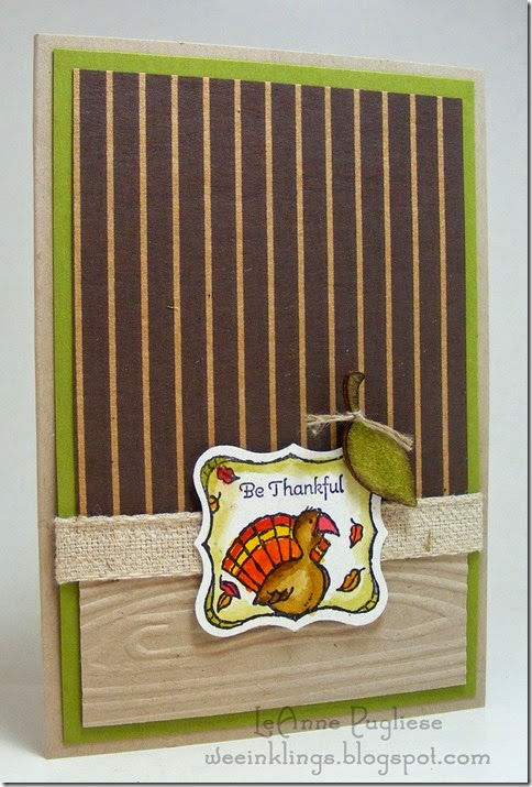 LeAnne Pugliese WeeInklings Gift Givers Thanksgiving Stampin Up