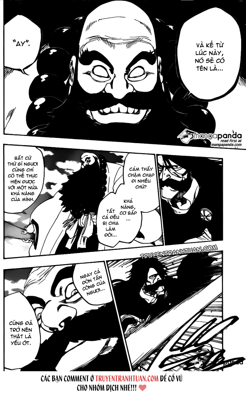 Bleach chapter 606 trang 15