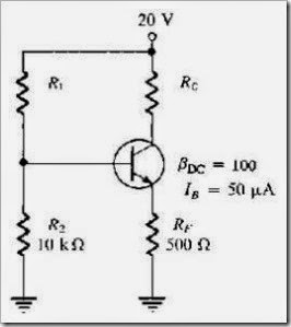 MCQs in  Transistor Bias Circuits  Fig. 02