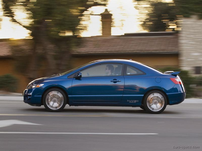 2010 honda civic si specifications pictures prices. Black Bedroom Furniture Sets. Home Design Ideas