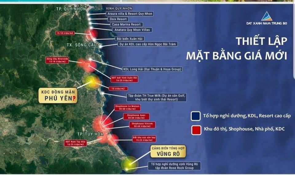 Hình ảnh dự án KDC Đồng Mặn - Bất Động Sản Phú Yên