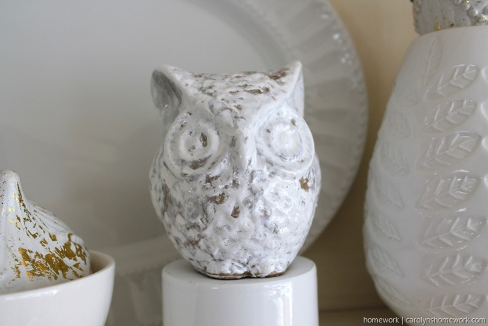 DIY Crackle Paint Owl via homework (13)