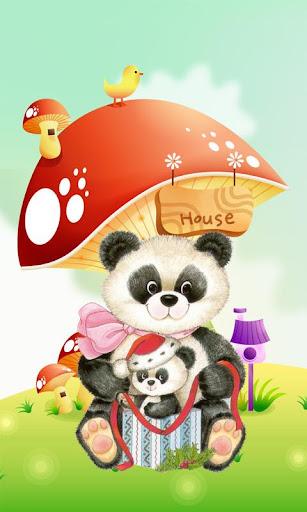 【免費個人化App】My Little Panda Wallpaper-APP點子