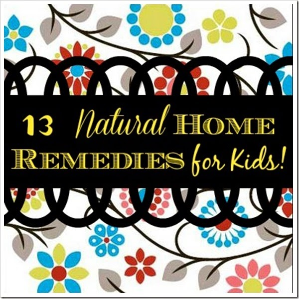 13 natural home remedies
