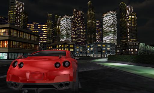 Night City Sport Car