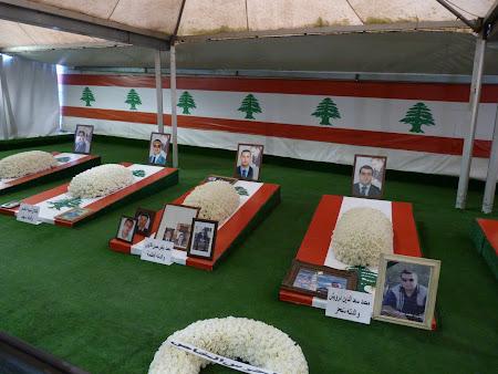 Obiective turistice Liban - mormantul lui Rafic Hariri
