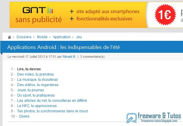 Les applications Android indispensables pour l'été
