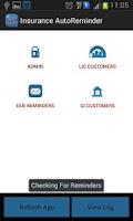 Screenshot of Insurance Autoreminder LIC GIC