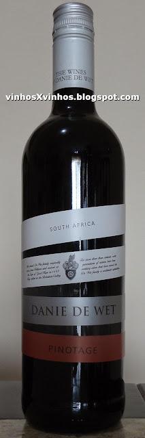 Vinho africano pinotage