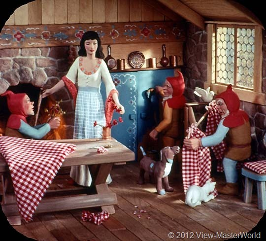View-Master Snow White and the Seven Dwarfs (B300), Scene 13
