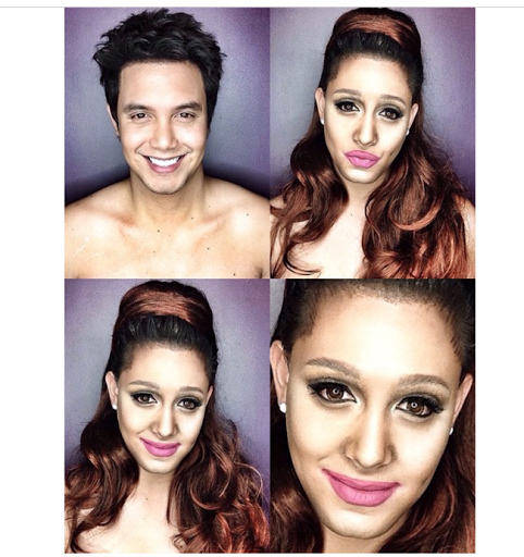 PHOTOS: Dad Transforms Himself Into Celebrities Using Makeup And Wigs 34