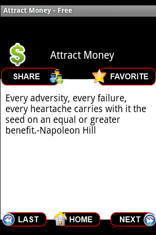 Attract Money Affirmations- screenshot