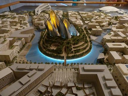 Obiective turistice Abu Dhabi: Zayed National Museum