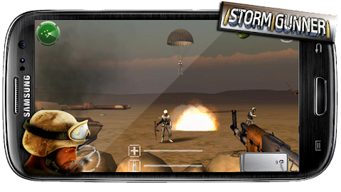Storm Gunner HD: War Combat Screenshot 4