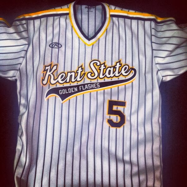 best service a2a3c 68af6 The Ultimate Baseball Look: Kent State Golden Flashes