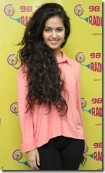 Actress Avika Gor @ Uyyala Jampala Team @ Radio Mirchi Photos